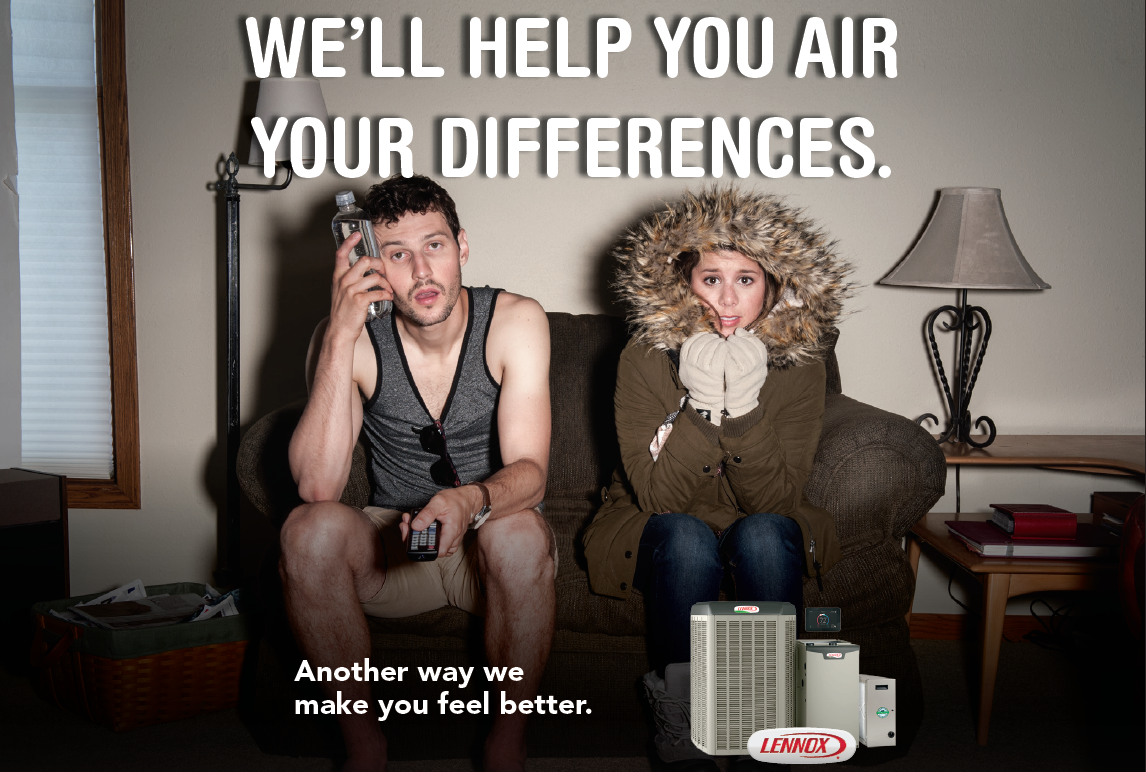 We'll help you with your air conditioner.